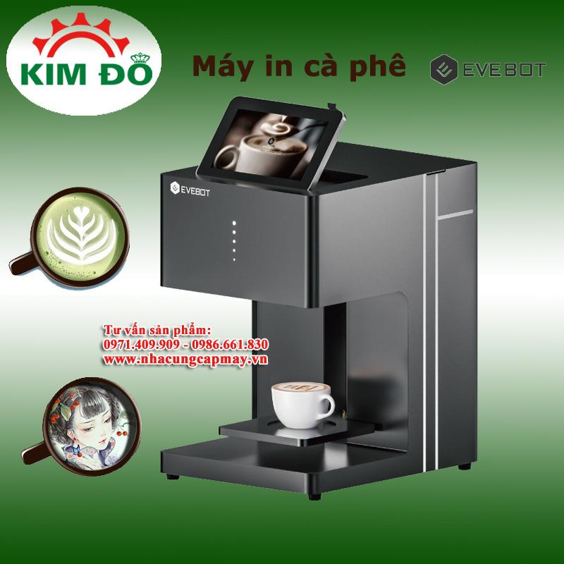 Máy in hình Cà phê Eve bot