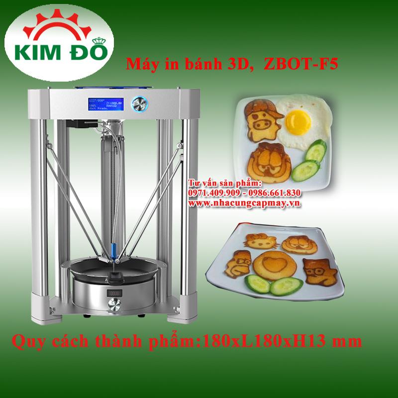 Máy in bánh 3D ZBOT-F5