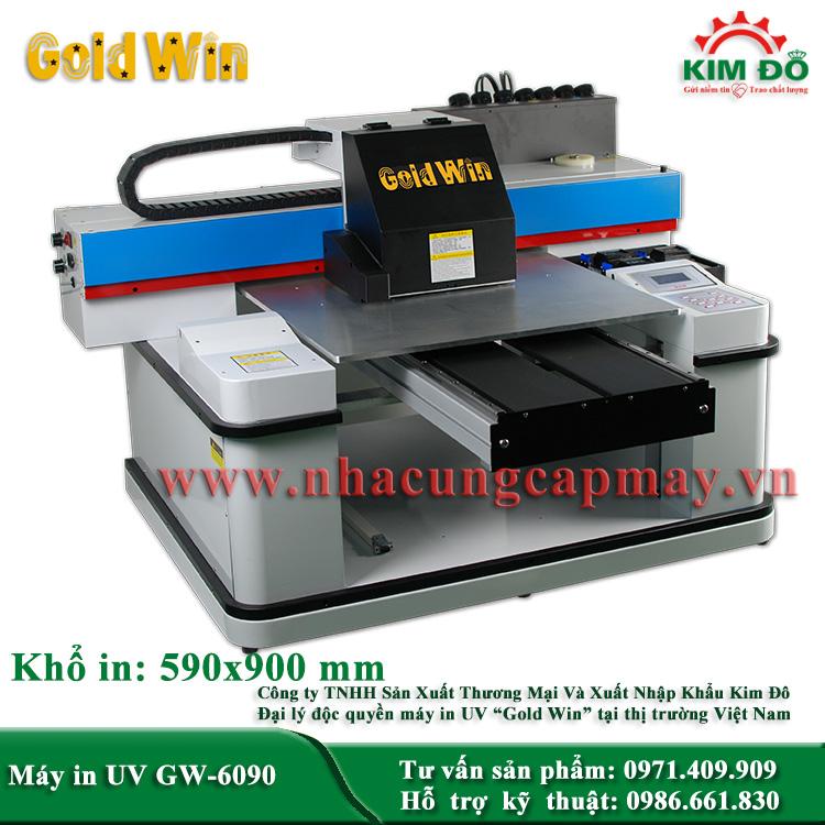 Máy in bình rượu GW-6090