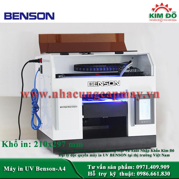 Máy in UV Benson A4