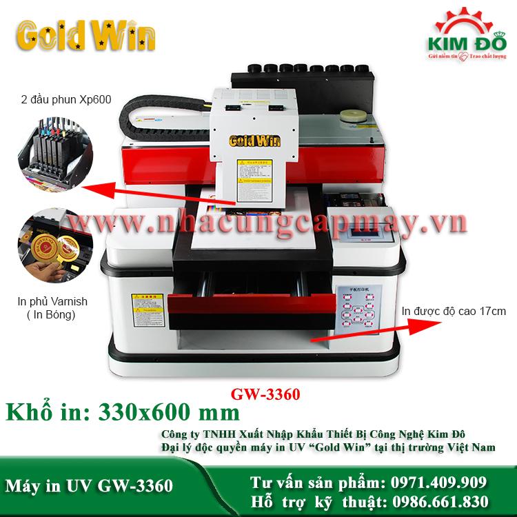 Máy in UV GW-3360