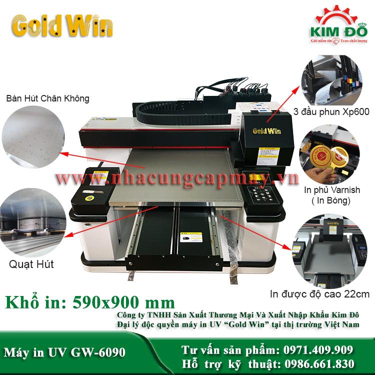 Máy in UV GW-6090
