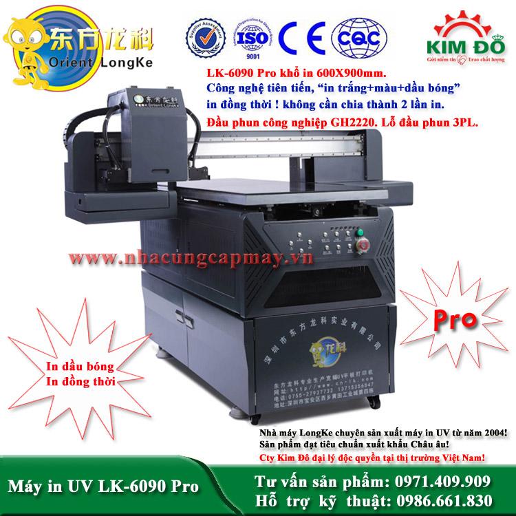 Máy in UV LK-6090 Pro