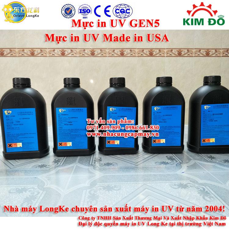Mực in UV GEN 5 mực cứng
