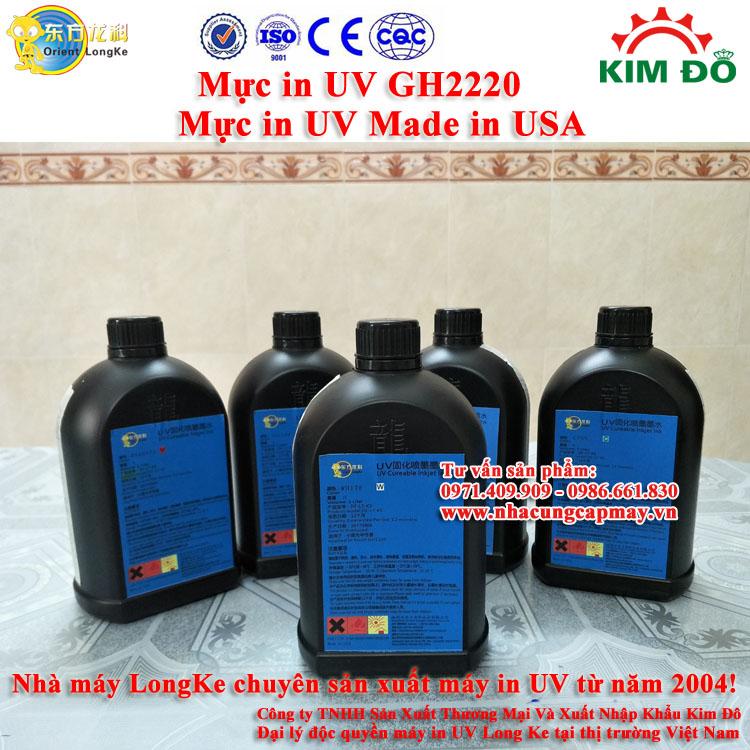 Mực in UV GH2220 mực trắng